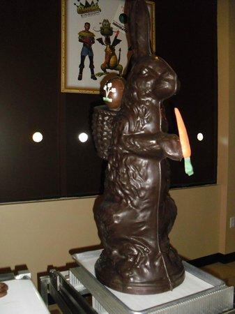 Chocolate Kingdom: Chocolate bunny
