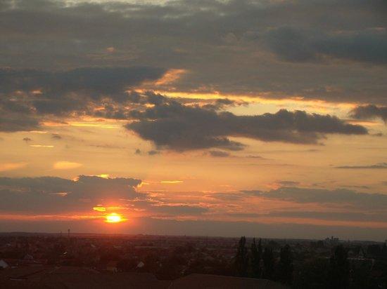 Ramada Oradea: Sunset seen from my room