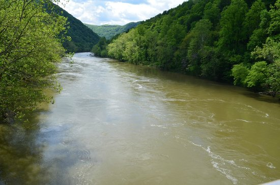 ACE Adventure Resort : flooding Lower New River