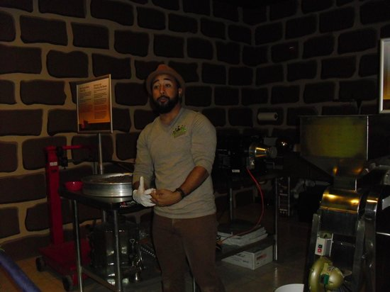 Chocolate Kingdom: Our tour guide