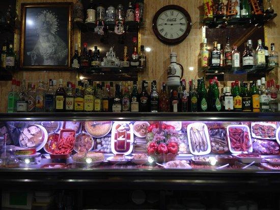 Restaurante Bar Andaluz: la vetrina