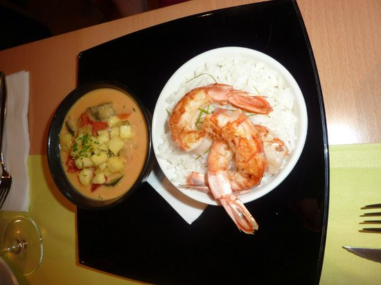 Restaurant S'Arc: Thai red curry
