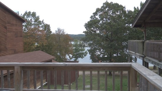 Table Rock Resorts at Indian Point: View from deck