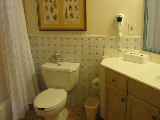 Disney's Old Key West Resort: bathroom in our studio