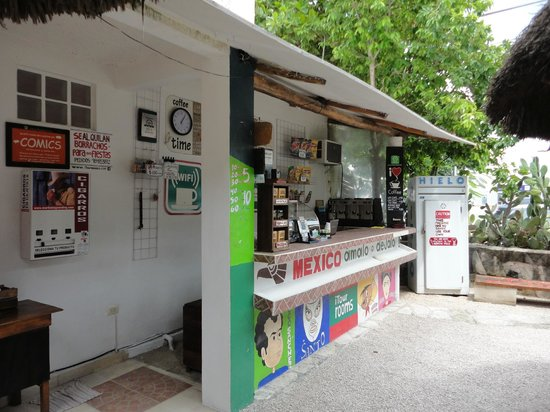 Itour Mexico : Frühstücks- und Kaffeebar