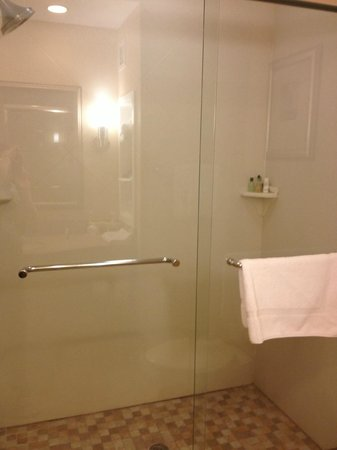 Holiday Inn Express Absecon - Atlantic City Area: Large Tiled Shower