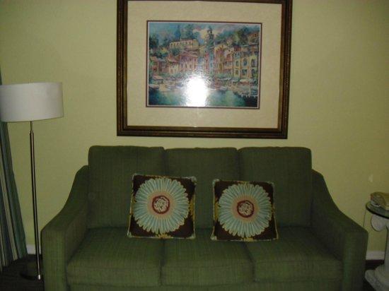Star Island Resort and Club: Living room (B Unit)