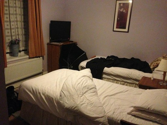 Cefn Mably Hotel: double room