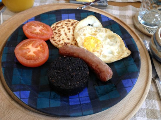 Trafford Bank Guest House: made to order breakfast