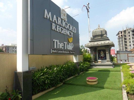 Marigold Regency: Front of the hotel
