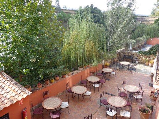 Hotel Molino del Puente Ronda: View from Balcony