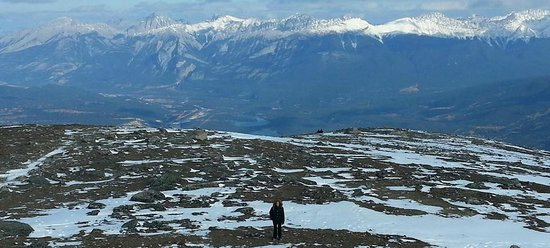 Jasper SkyTram : Off the Tram and hiking to the top!