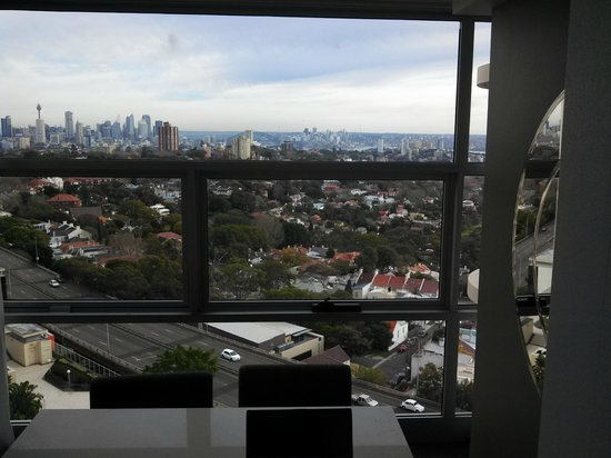 Meriton Serviced Apartments Bondi Junction: View from room 909