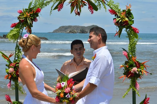 Hotel Costa Verde: Wedding they coordinated