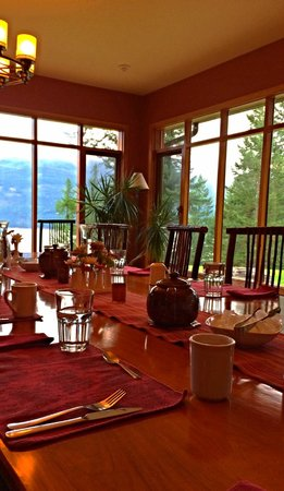 Mountain Trek Fitness Retreat & Health Spa: dining room