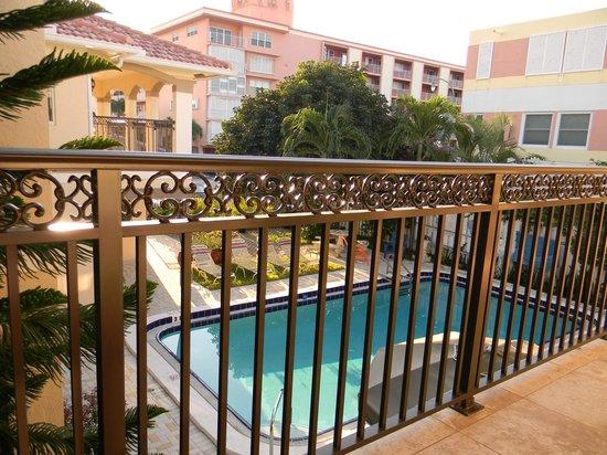 Villa Aqualina: view from porch