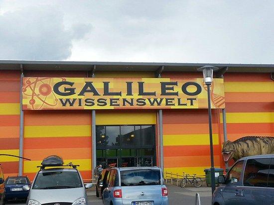 Burg auf Fehmarn, Jerman: Eingang zur Galileo Wissenswelt