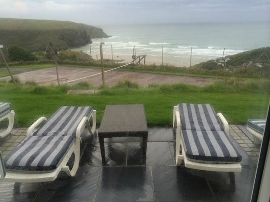 Bedruthan Hotel & Spa: View from Apartment 8