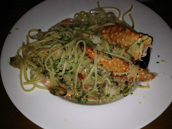 ENZO's on 76th: Pescatore - king crab