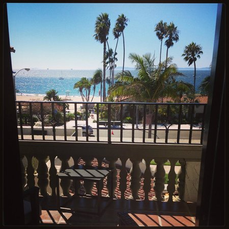 Hyatt Centric Santa Barbara : Beautiful view of the Pacific Ocean!