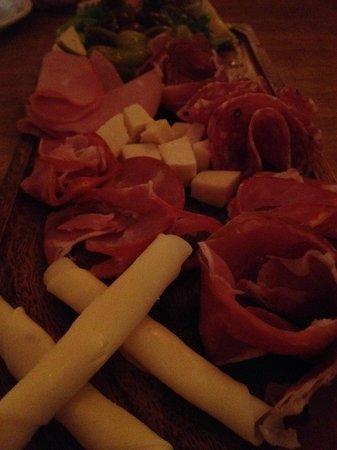 ENZO's on 76th: Antipasto Misto - Italian meats and cheese