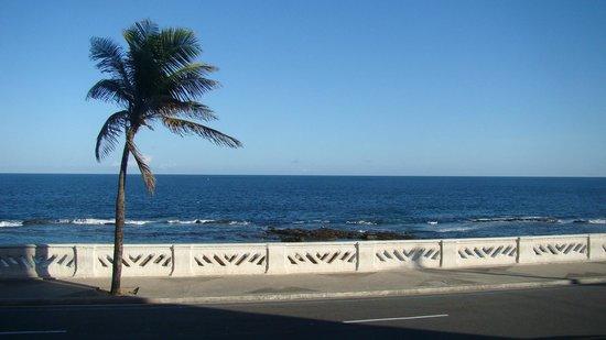 Bahia Flat: vista do restaurante do flat
