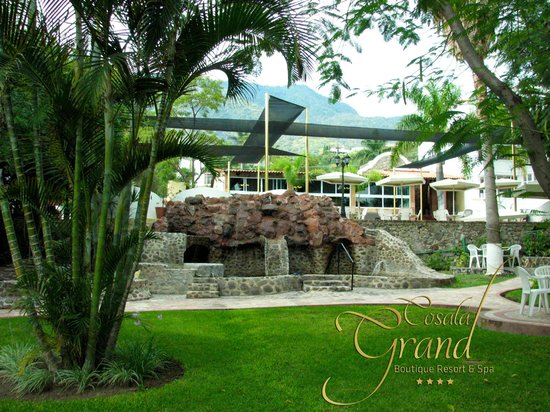 Cosala Grand Boutique Resort & Spa: Liberese de su estres y preocupaciones en nuestro jacuzzi al aire libre, sientase completametne