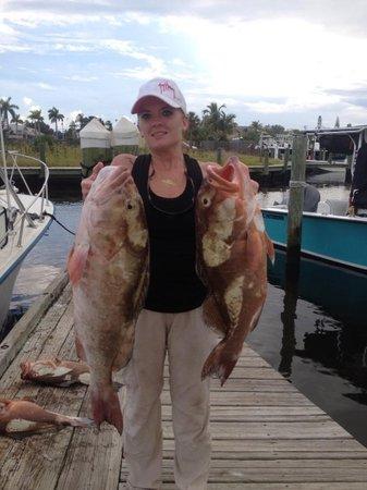 Kingdom Business Fishing Charters: grouper fishing