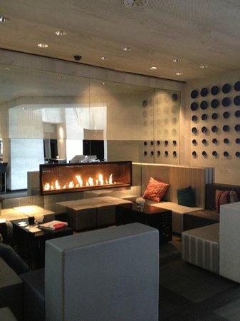 W San Francisco: Awesome lounge area