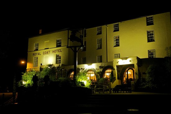 Royal Goat Hotel: Hard to miss this place