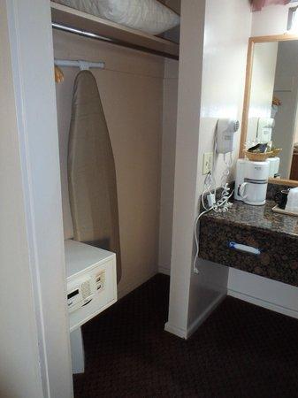 Ramada San Luis Obispo: closet - ironing board