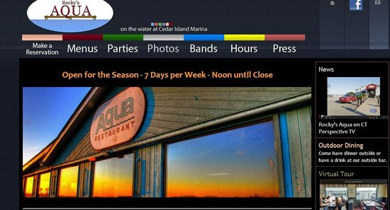 Rocky's Aqua: The website screams open seven days a week, a visit there proved otherwise