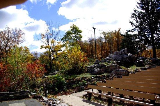 Rib Mountain State Park: the ampitheater