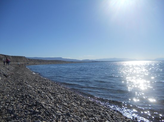 Los Antiguos, Argentina: Vista del lago
