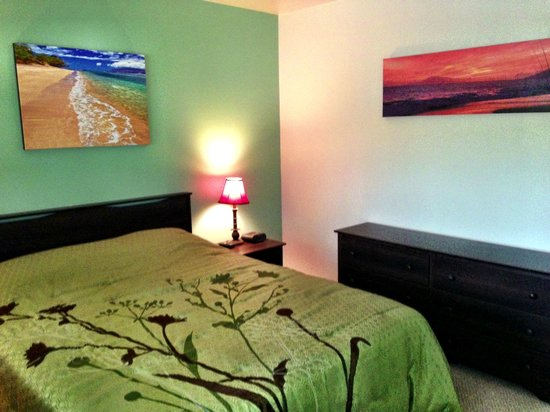 Kihei Bay Vista: Comfy bedroom