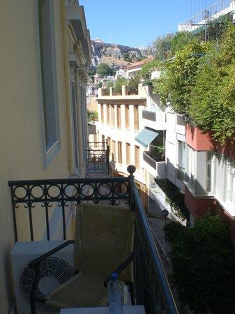 Hotel Acropolis House: On y voit même l'Acropole de la terrasse