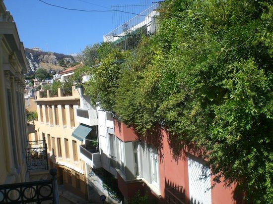 Hotel Acropolis House: Vu sur l'Acropole