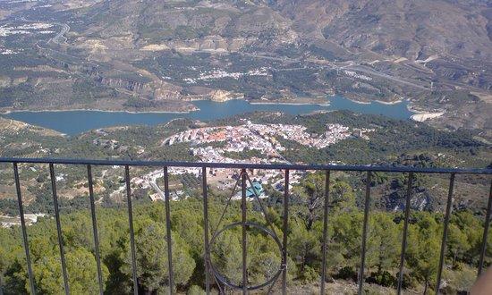 Hostal Rural Los Naranjos: vistas desde hermita cristo del zapato