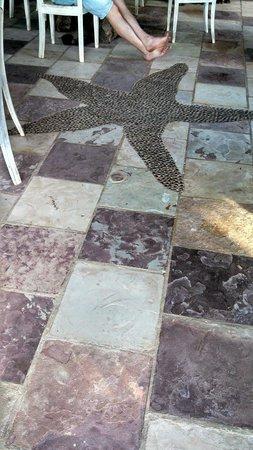 Estrela do Mar: Detalhe do piso