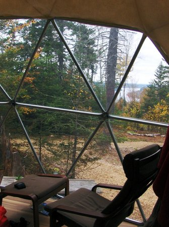 Ridgeback Lodge: The view from Dream Dome 1