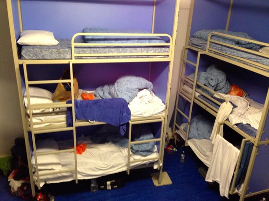 Hyde Park Hostel: En el dormitorio para 12 personas