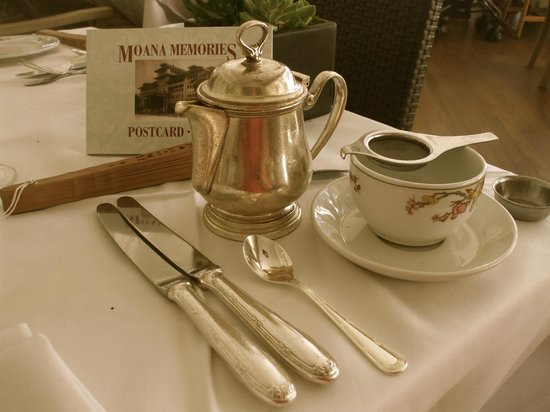 Beachhouse at the Moana : Tea Service