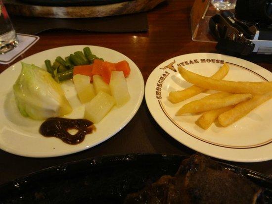 """Lam Sai Village Hotel: les """"plats"""" !!"""