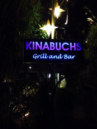 Kinabuch Grill & Bar: Open space signage