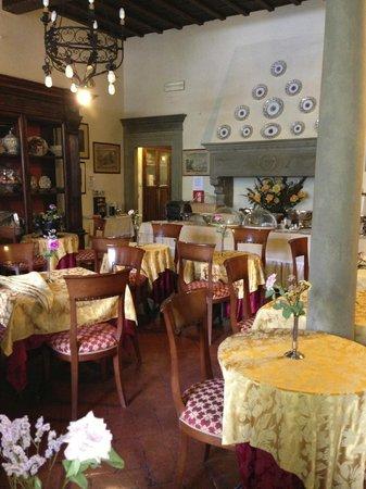 Hotel Monna Lisa: Dining room