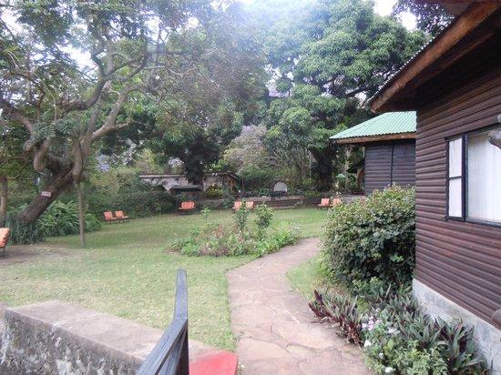 Mount Meru Game Lodge & Sanctuary: View of the lodge