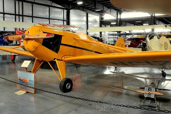 Western Antique Aeroplane & Automobile Museum: Part of WAAAM aircraft collection