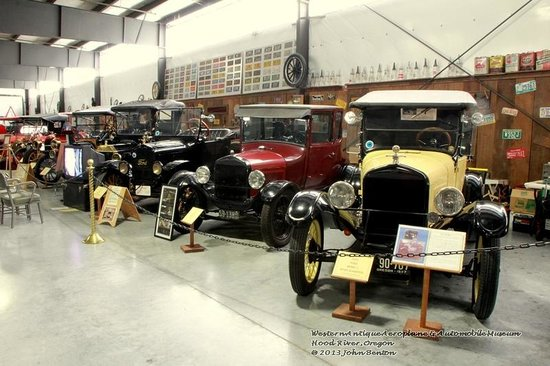Western Antique Aeroplane & Automobile Museum: Part of WAAAM auto collection