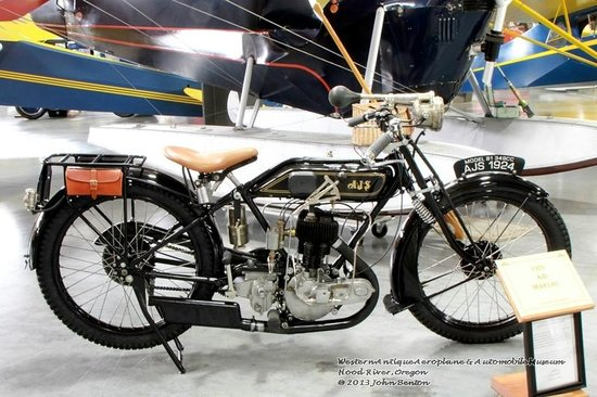 Western Antique Aeroplane & Automobile Museum: Part of WAAAM motorcycle collection