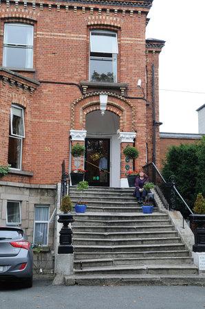 Ariel House: Main Entrance